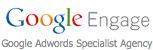 Google engage logo